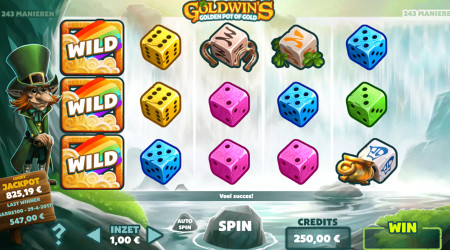 Goldwin's Pot of Gold sur LuckyGames.be