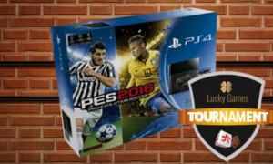 Une PS4 à gagner lors  d'un tournoi de dés sur LuckyGames.be