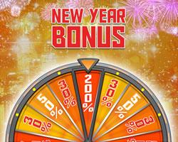 200 % de bonus avec la Magic Wheel de MagicWins pour le 1er janvier