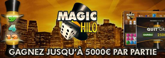 Découvrez Magic Hilo en exclusivité sur MagicWins.be