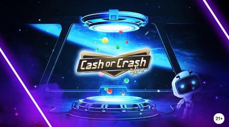 Discover Cash or Crash: Un extra cash garanti par jour sur le Live Casino Napoleon