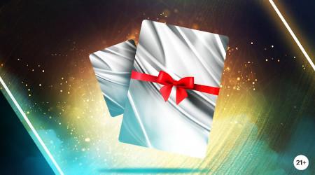 500 euros par jour à se partager sur le blackjack avec les Gift Cards  du casino Napoleon