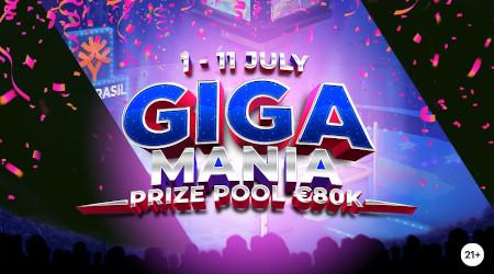 Gigamania Prize Drop: 80.000 euros de cash à gagner sur le casino Napoleon