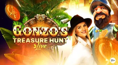 Gonzo's Treasure Hunt: 2.500 euros à se partager sur le Live Casino Napoleon