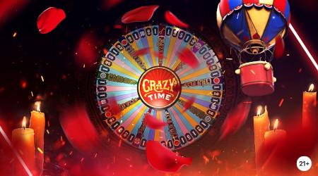 Let's Play Crazy Time: 15 euros par jour à gagner sur le Live Casino Napoleon