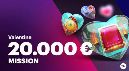 20.000 euros à gagner pour la Saint-Valentin avec Napoleon Casino