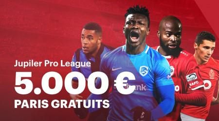 Pronostiquez le Champion de la Jupiler Pro League et gagnez 5.000 euros de paris