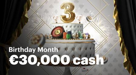 30.000 euros à se partager lors du tournoi d'anniversaire du Napoleon Live Casino
