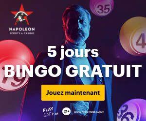 Jouez gratuitement au bingo avec le casino Napoleon