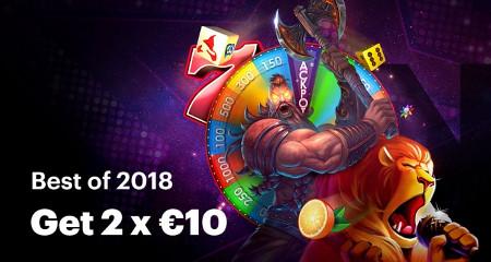Gagnez 20 euros de bonus et des parties gratuites ce 31 décembre