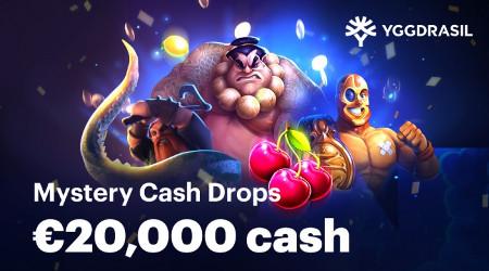 20.000 euros à se partager sur les jeux Yggdrasil Gaming