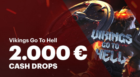 Cash Drop de 2.000 euros sur Napoleon Casino et Vikings Go To Hell