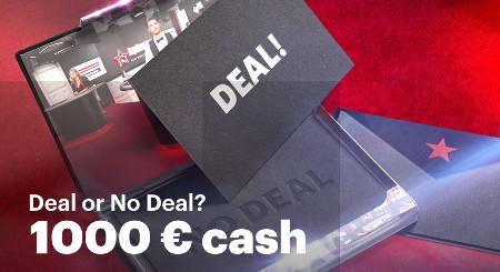Gagnez du cash avec les cartes «Deal or No Deal»