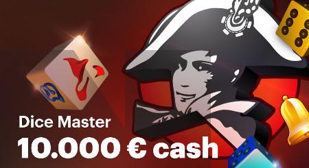 10.000 euros à se partager avec Dice Master au Casino Napoleon Games