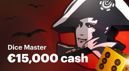 15.000 euros à se partager avec Halloween Dice Master