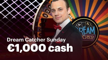Dream Catcher Sunday : 1.000 euros à se partager sur Napoleon Games