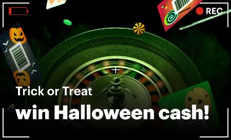 Récoltez des cartes et gagnez du cash pour Halloween sur Napoleon Games