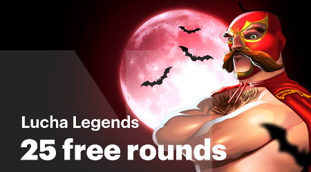 25 parties gratuites offertes sur Lucha Legends