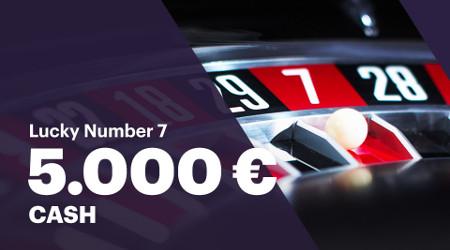 5.000 euros à gagner à la roulette sur Napoleon Games