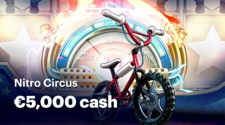 5.000 euros à se partager en accédant au mode bonus de Nitro Circus