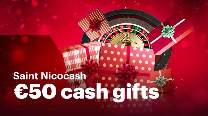 Saint Nicocash : 50 € de cadeaux offerts par le casino Napoleon Games