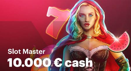 10.000 euros à se partager avec Slot Master du Casino Napoleon Games
