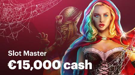 15.000 euros à gagner avec Halloween Slot Master