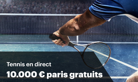 10.000 € de paris gratuits sur le Tennis en direct avec Napoleon Games