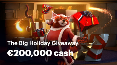 200.000 € à gagner avec The Big Holiday Giveaway