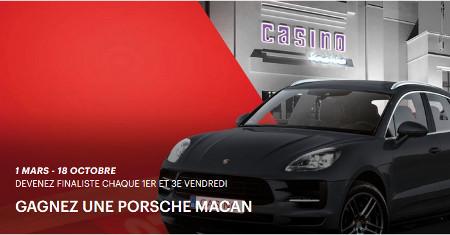 Gagnez une Porsche Macan avec le Grand Casino Knokke
