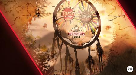 Crazy Wheels: 300 euros par jour à se partager  sur le Live Casino Napoleon