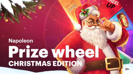 Plein de cadeaux avec la Napoleon Prize Wheel