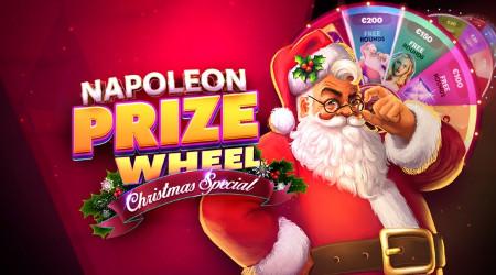Napoleon Prize Wheel : Des prix quotidiens et un jackpot mensuel