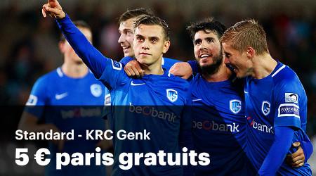 5 euros à gagner pour chaque but du Standard ou de Genk