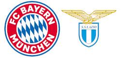 Bayern Munich x Lazio Rome