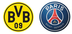 Borussia Dortmund x Paris Saint-Germain