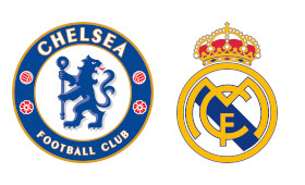 Chelsea x Real Madrid