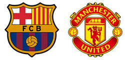 Barcelone x Manchester United