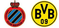 FC Bruges x Dortmund