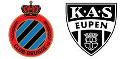 FC Bruges x Eupen