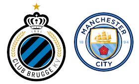 FC Bruges x Manchester City