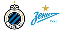 FC Bruges x Zénith Saint-Pétersbourg