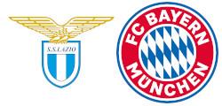 Lazio Rome x Bayern Munich