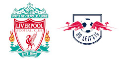Liverpool x RB Leipzig