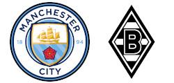 Manchester City x Borussia M'Gladbach