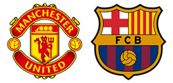 Manchester United x Barcelone