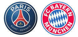 Paris Saint-Germain x Bayern Munich
