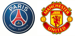Paris Saint-Germain x Manchester United