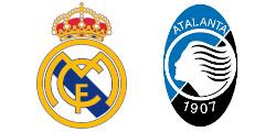 Real Madrid x Atalanta Bergame