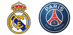 Real Madrid x Paris Saint Germain